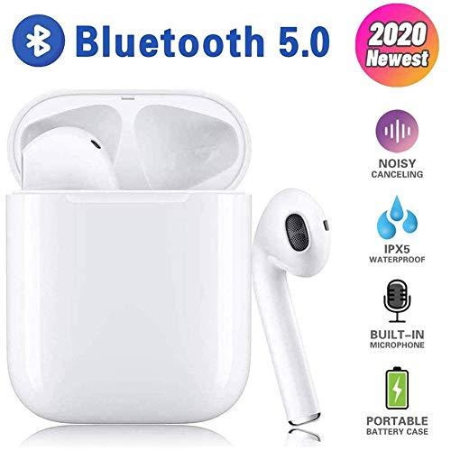 Bluetooth-Kopfhörer Sport, kabellose Touch-Kopfhörer HiFi-Kopfhörer In-Ear-Kopfhörer Rauschunterdrückungs kopfhörer,Tragbare Sport-Bluetooth-Funkkopfhörer,Für Android/iPhone/Samsung