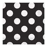 Unique Party- Dots Paper Napkins Tovaglioli di Carta in Set...
