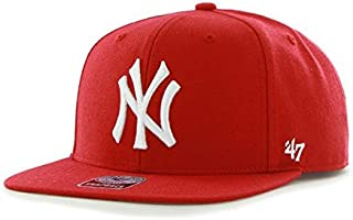 '47 Forty Seven Brand MLB New York Yankees Sure Shot Snapback Cap Red Captain