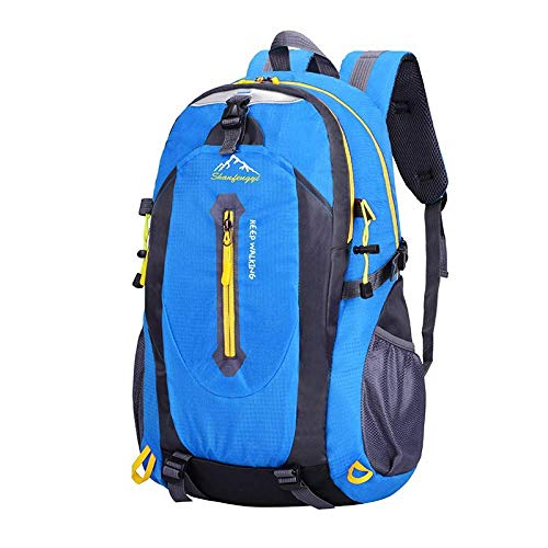 Classic Outdoor Mountaineering Bag Men and Women Riding Backpack Sports School Bag Leisure Travel Travel Backpack 40L