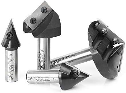 discount Amana wholesale Tool - 4Pc CNC 3D Signmaking online Set (AMS-150), Industrial Grade online sale