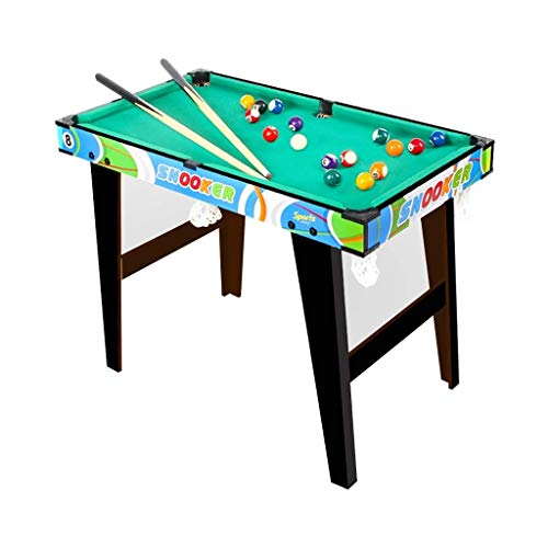 WJMLS Folding Billiards Table Snooker Table Set with All Accessories, Great for...