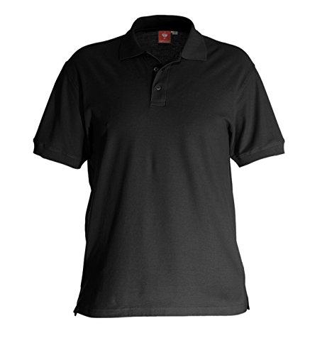 Engelbert Strauss Poloshirt, Farbe:schwarz, Größe:2XL
