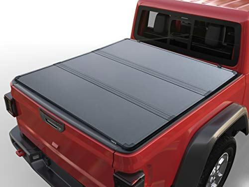 VANGUARD Hard Tonneau Cover Compatible with 14-20 Toyota Tundra 5.6ft Bed