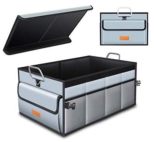 Amumuyx Organizador Maletero Coche - Organizador Maletero Coche Bolsas para maletero del coche Impermeable Calidad Duradera con Gran Capacidad Ideal para el Viaje de la del Hogar del Coche Organizar