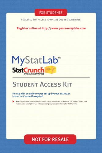 MyLab Statistics -- Valuepack Access Card