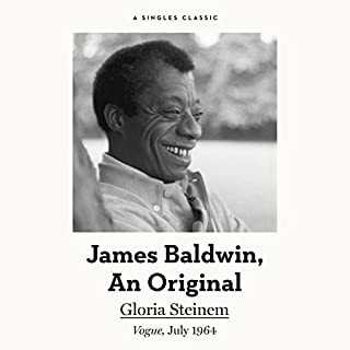 James Baldwin, an Original cover art