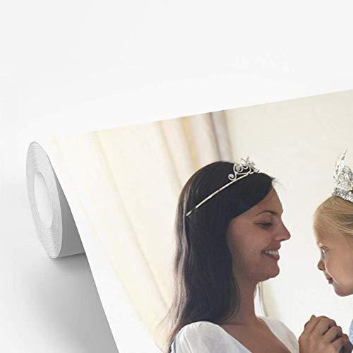 Fotobehang vinyl Kinderen in verkleedkleren - Moeder en dochter in verkleedkleren 485x350 cm