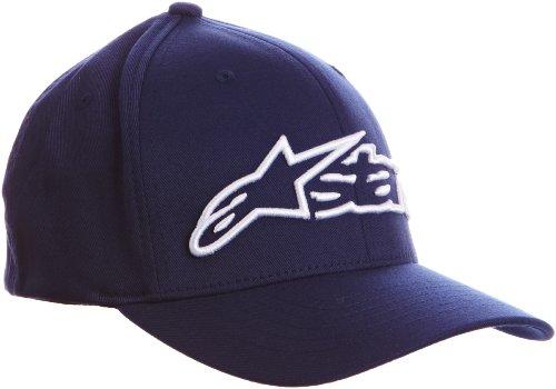 Alpinestars Blaze Flexfit Hat Casquette de Baseball, Bleu (Navy/White), (Taille Fabricant:Large/X-Large) Homme