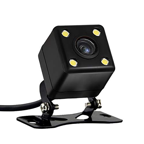 HD Auto Rückfahrkamera mit Super Nachtsicht IP67 Wasserdicht Seismische Rückfahrkamera Weitwinkelansicht für Auto RV Wohnwagen Anhänger Abschleppwagen