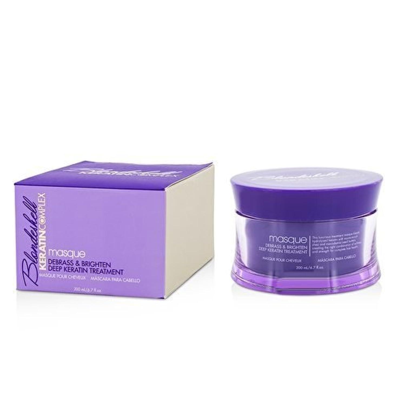 クロニクルブローホール徹底Blondeshell Masque Deep Keratin Treatment 200 ml by Keratin Complex