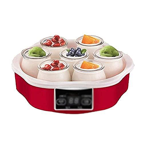 LINQ Macchina da Yogurt - Macchina elettrica Automatica del creatore di Yogurt, Contenitore...