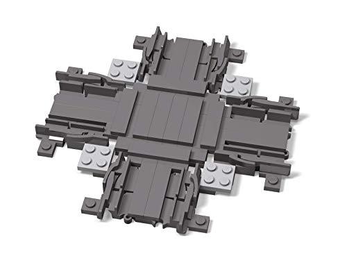 LEGO Unbekannt Schienenkreuzung Gleiskreuzung für Eisenbahn