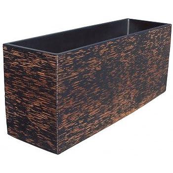 AnaParra Cubic Jardinera Exterior Rectangular Fabricado en ...