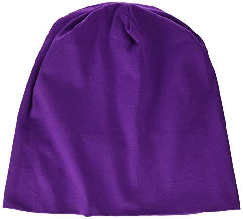 MSTRDS Jersey Beanie Bonnets en Mailles, Violett (Purple 3424), Taille Unique Femme