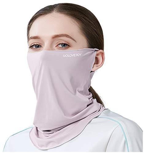 keland Protección UV Mascarilla de Cubierta Facial Protector Solar Respirable Pañuelo Polaina...