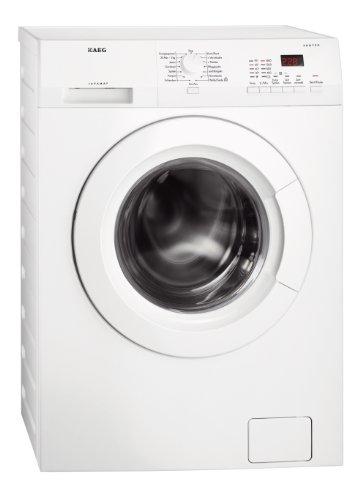 AEG L6.70VFL Waschmaschine Frontlader / Energieklasse A+++ (171,0 kWh/Jahr) / freistehende Waschmaschine mit 7 kg ProTex Schontrommel / sparsamer Waschautomat mit Mengenautomatik