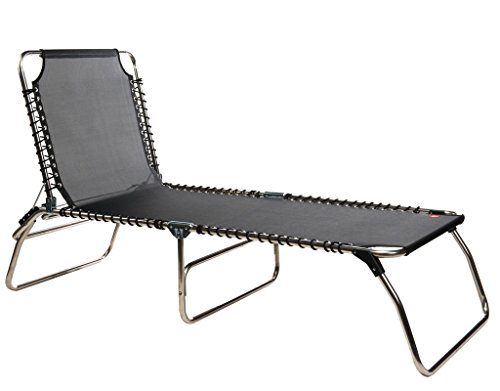 Jan Kurtz - Fiam Amigo XXL - schwarz - Francesco Favagrossa - Design - Gartenliege - Sonnenliege - Pool