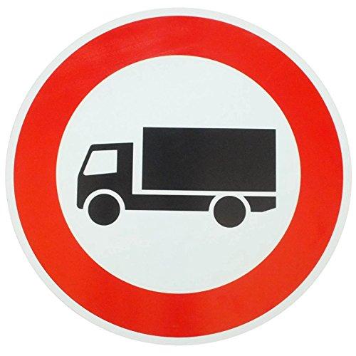 ORIGINAL Verkehrszeichen Nr. 253 LKW * Verbot f. Kraftfahrzeuge mit einem zul. Gesamtgewicht über 3,5 t einschl. ihrer Anhänger und Zugmaschinen, ausgenommen Personenkraftwagen und Kraftomnibuss * Verkehrsschild Straßenschild Schild Schilder StVO