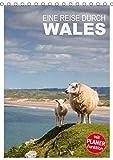 Eine Reise durch Wales (Tischkalender 2020 DIN A5 hoch): Impressionen einer Reise durch den abwechslungsreichen Westen Großbritanniens (Planer, 14 Seiten )