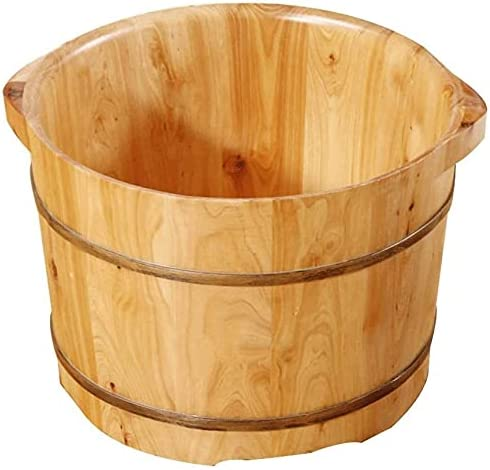 Some reservation LIZHIQIANGLZQzuyupen Pedicure Bowl Solid Foot Cedar Soaking New mail order Wood