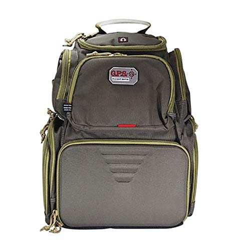 G5 Outdoors Handgunner Backpack -Rifle Green/Khaki, One Size (GPS-1711BPRK)
