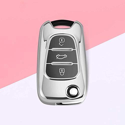 AMLaost Nueva funda para llave de coche, fundas para llavero de control remoto de TPU, para Hyundai I30 IX35 Accent I20 Sonata para Kia K2 K5 Sportage L811