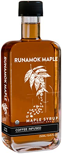 Runamok Maple Coffee Infused Maple Syrup - Authentic & Real Vermont Maple Syrup