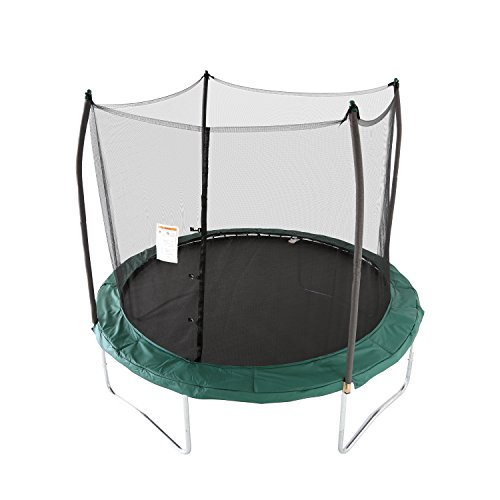 Skywalker Trampolines 10 -Foot Round Trampoline and Enclosure with...