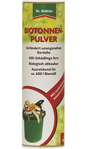 Dr. Stähler 002196 Biotonnen-geurvrij, 500 g poeder
