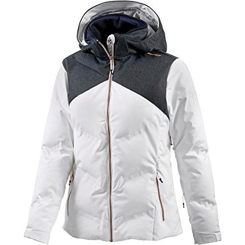 Ziener Damen Skijacke TATIKI Jacket, White, 40