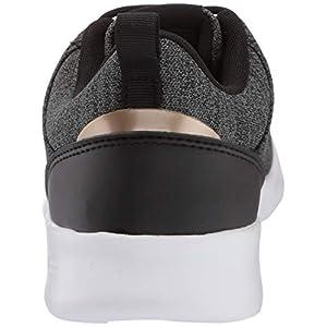 adidas Women's QT Racer 2.0 Running Shoe, Black/Copper Metallic/Grey, 9