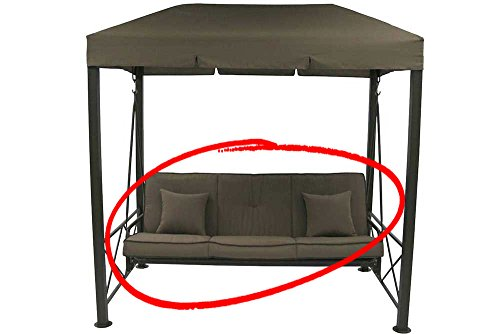 The Outdoor Patio Store Cushion Set for Target 3-Seater Gazebo Swing