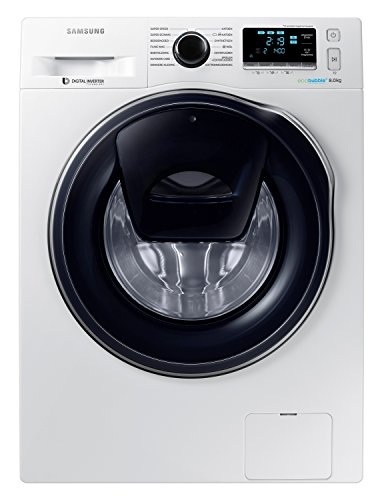 Samsung WW80K6404QW Libera installazione Carica frontale 8kg 1400Giri/min A+++-40% Bianco lavatrice