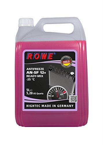 ROWE Hightec Antifreeze AN-SF 12+ READY-MIX -25 °C - 5 Liter PKW Kühler-Frostschutzmittel   Made in Germany