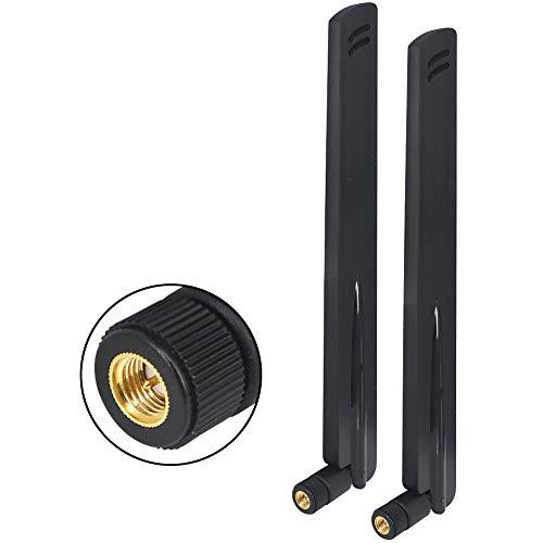 SMA 4G LTE-Antenne, 12 dBi, 868 MHz, hohe Verstärkung, Omnidirektional, SMA-Gain für Sicherheitskamera/Router, abnehmbare Antenne, erhöht die Signalstärke, 2 Stück