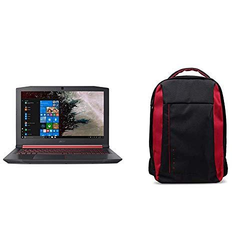 Acer AN515-52-75HE Notebook con Processore Intel Core i7-8750H, RAM 16 GB, 256 GB PCIe SSD, 1000 GB HDD, Display 15.6 FHD IPS 144Hz LCD, NVIDIA GeForce GTX 1060 6G + Zaino Nitro