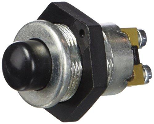HELLA 6JF 001 571-181 Zünd-/Startschalter - Druckbetätigung - Anschlussanzahl: 2 - Schraubkontakt - geschraubt - Bohrung-Ø: 18,5mm - Blechdicke: 10mm - Schließer