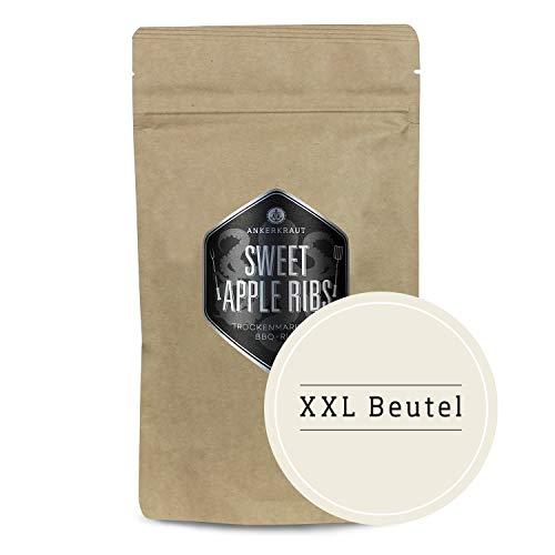 Ankerkraut Sweet Apple Ribs, fruchtige BBQ-Rub Gewürzmischung zum Grillen von Spare-Ribs und Schwein, 750g im aromadichten XXL-Beutel