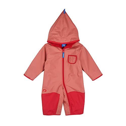 Finkid Pikku Winter Rot, Kinder Freizeitjacke, Größe 100-110 - Farbe Rose - Red