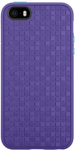 Speck Products PixelSkin HD Wink Rubberized Case for iPhone 5/5s  - Grape Purple/Peacock Blue Purple