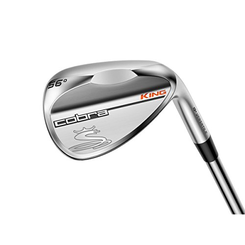 2016 Cobra King Satin Wedge (Men's, Left Hand, Steel, Wedge Flex, Versatile Grind, 58.0 Degree)
