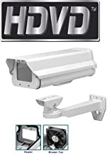 HDVD CH-605HB-WM Heavy Duty Outdoor CCTV Camera Housing, Built in Heater/Blower, 24VAC