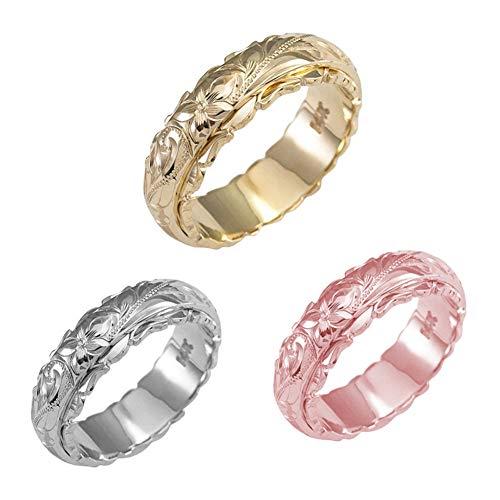 Anillo Giratorio De Cobre para Mujeres Y Hombres, Tamaño 5-11, Ancho 6 Mm, 3 Colores: Oro Rosa, Plata, Oro, Acabado Arenado,8