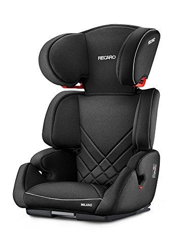 RECARO Siège Auto Groupe 2/3 Milano Seatfix Performance Noir