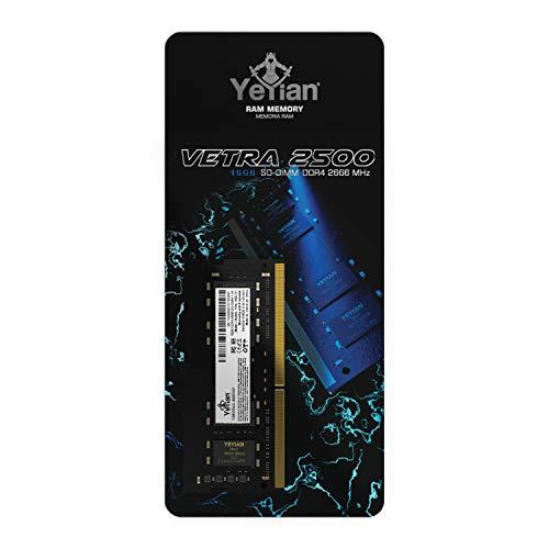 YEYIAN Memoria RAM Vetra SODIMM DDR4 2666MHZ, 260 Pines (16...
