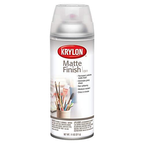 KRYLON DIVERSIFIED BRANDS K01311007 Pintura en aerosol con acabado mate, 11 oz, satinado