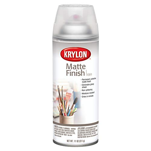 KRYLON Diversified Brands K01311007 Matte Finish Spray Paint, 11 oz, 11 Oz