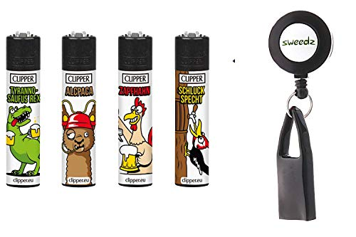 Clipper Bier im 4er- Set mit Gratis Lighter Leash