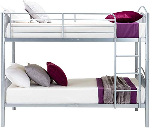 Structure métallique mobile avec lits superposés d'échelle mobile lits superposés -,Silver